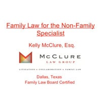 2012 Litigation Update - Mcclure Law Group