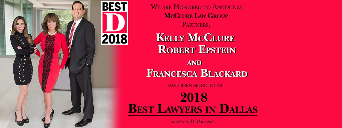 Kelly McClure & Robert Epstein - Best Family Lawyer 2016