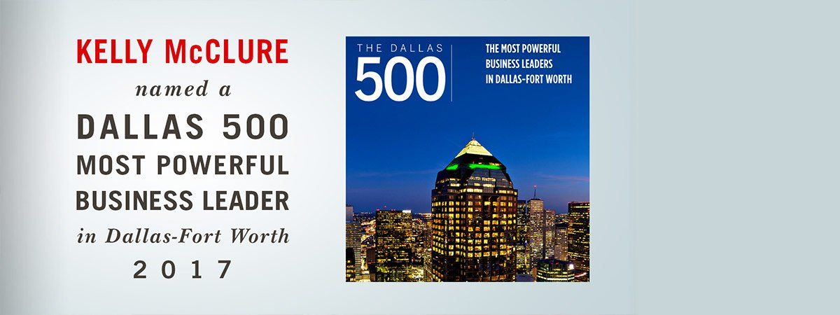 Dallas 500 Most Powerful Business Leader 2017