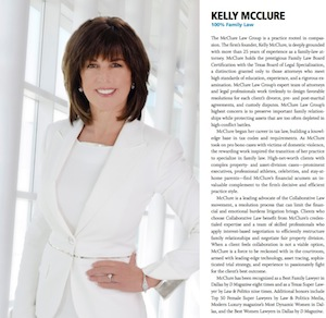 Kelly McClure named 2013 Best Lawyer by D magazine for 10th year