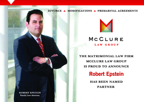 Robert Epstein named Partner of McClure Law Group